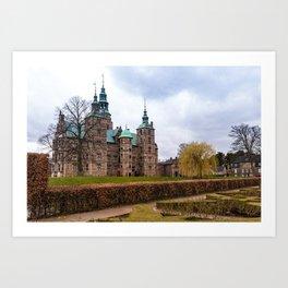 Rosemborg Castle, Copenhagen in Denmark Art Print