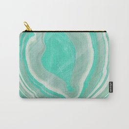 Hand marbeled paper 2 Carry-All Pouch