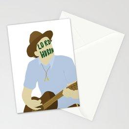 Ben Schneider-lord huron Stationery Cards