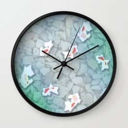 Kingyo Wall Clock