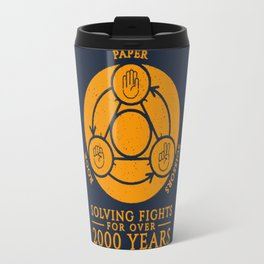 How to solve a fights Travel Mug