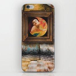 in madona iPhone Skin