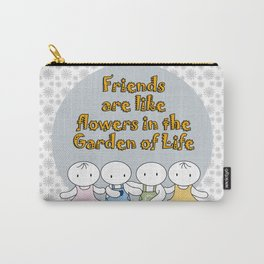 Happy Friendship Forever Carry-All Pouch