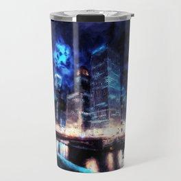 Chicago Panorama Travel Mug