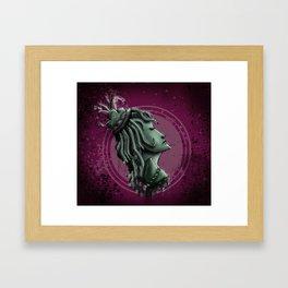 Lady of War Framed Art Print