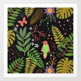 Rainforest Paradise Art Print