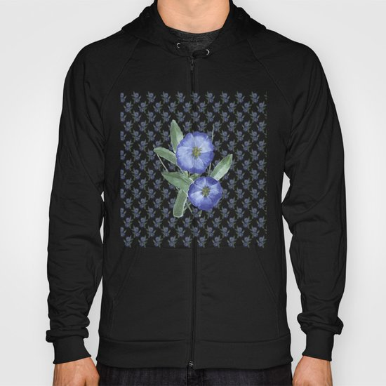 Another Violet Flowers Pattern Hoody