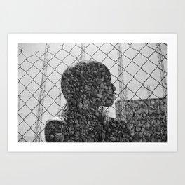 Rock Chain Art Print