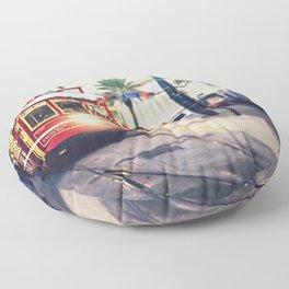 New Orleans Streetcar Floor Pillow