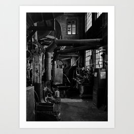 Old Factory 2 Art Print