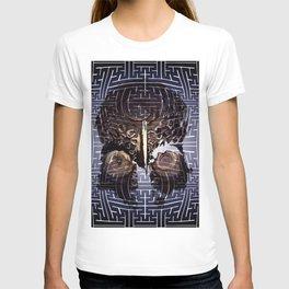 sayagata papua skull T-shirt