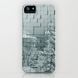 Winter collage iPhone Case