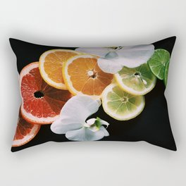 Rainbow of Citrus Rectangular Pillow