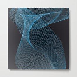Swirrl pattern Metal Print