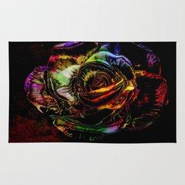 Neon Rose By Annie Zeno  Rug