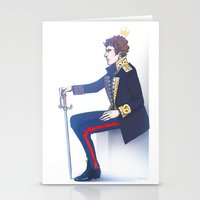hamlet Stationery Cards featuring Benedict Cumberbatch - Hamlet by enerjax