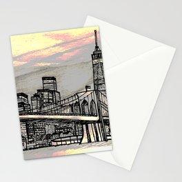 NYC_skyline Stationery Cards