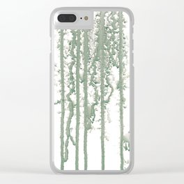 Marble Pathways Clear iPhone Case
