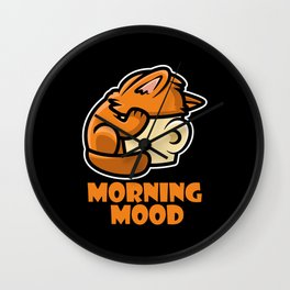 Morning Mood Wall Clock