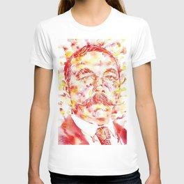 ARTHUR CONAN DOYLE - watercolor portrait.1 T-shirt
