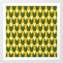 Pineapple Party Art Print