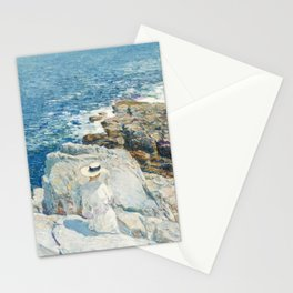 The South Ledges, Appledore by Childe Hassam Stationery Cards