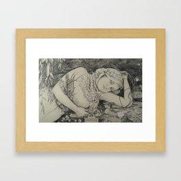 Rimbaud's Ophelia Framed Art Print