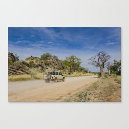 Leopold Downs Road Canvas Print