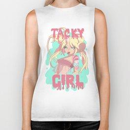 Tacky Girl.  Biker Tank