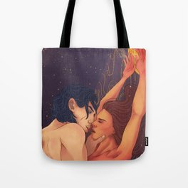Gold cage, hostage to my feelings Tote Bag