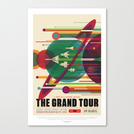 The Grand Tour Canvas Print