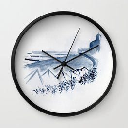 Untitled - lido Wall Clock