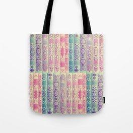 Pattern Books Tote Bag