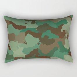 Forest camo Rectangular Pillow