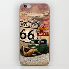 Get your Kicks on Route 66 iPhone Skin