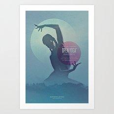 Open Yoga Gallery Art Print