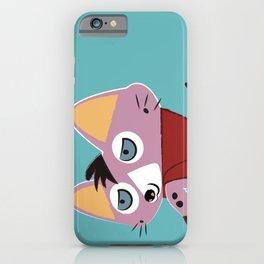 Genet Gentleman Pink iPhone Case
