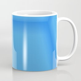 Blue Empty Room Coffee Mug