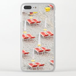 Diagonal_2 Clear iPhone Case