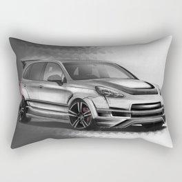 Porsch Cayenne Sakura Artrace body-kit. Rectangular Pillow