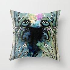 Undersea Scourge Throw Pillow