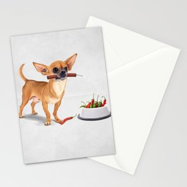 Spicy (Wordless) Stationery Cards