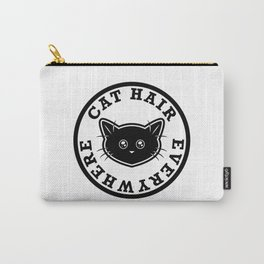 Cat Hair Everywhere Carry-All Pouch