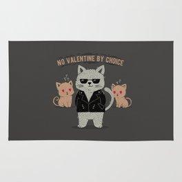 No Valentine By Choice Rug