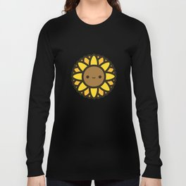 Cute Sunflower Long Sleeve T-shirt