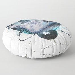 The Essence of Queens Floor Pillow