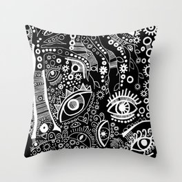 """""""The Watching Willow"""" Throw Pillow"""