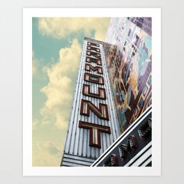 Paramount - Oakland, CA Art Print