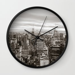 Infinite - New York City Wall Clock