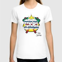 blackhawks T-shirts featuring Chicago Pride Blackhawks by TyRex Creations